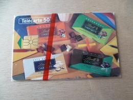TELECARTE  NEUVE SOUS  BLISTER  50 U  CHOCOLAT  LINDT 05/94  6500 EX - France