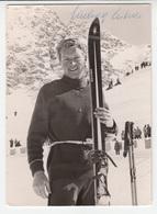 Ludwig Leitner, German Alpine Ski Racer, Autographed Photo B190120 - Autographs