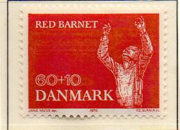 PIA - DANIMARCA -1970 : Sovrattassa A Profitto Dell' Infanzia  - (Yv 501) - Denmark