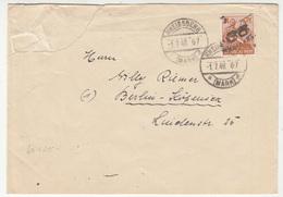 Soviet Zone, Letter Cover Travelled 1948 Rheinsberg Pmk B190120 - Zone Soviétique