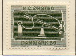 PIA - DANIMARCA -1970 : 150° Della Scoperta Dell'elettromagnetismo Da Parte Di Hans Christian Orsted  - (Yv 506) - Denmark