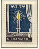 PIA - DANIMARCA -1970 : 25° Della Liberazione  - (Yv 502) - Denmark