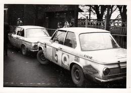 Photo Originale Rallye Monte-Carlo 1969 Duo De BMW 2002 TI N° 75 & N° 115 - Cars