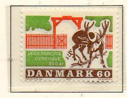 PIA - DANIMARCA -1970 : 300° Del Parco Di Jaegersborg  - (Yv 503) - Denmark