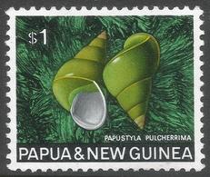 Papua New Guinea. 1968-69 Sea Shells. $1 MH SG 150 - Papua New Guinea