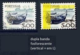 Portugal - Instrumentos Trabalho 5$00 - DUPLA TARJA FOSFORESCENTE (001) - Variétés Et Curiosités