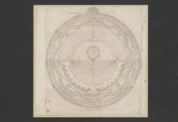 Postcard - The Night Sky - Drawing Of An Astrolabe, Date And  Orgin Unknown - Unused New - Postcards