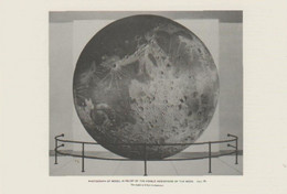 Postcard - The Night Sky - Relief Of The Visible Hemisphere Of The Moon By Oliver C. Farrington, 1925 - Unused New - Postcards