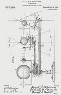 Postcard - The Night Sky - US Patent No.937,892, Plans For A Planetarium 1909 - Unused New - Postcards