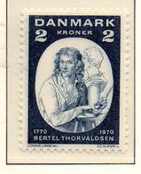 PIA - DANIMARCA -1970 : 200° Della Nascita Dello Scultore Bertel Thorsvaldsen  - (Yv 513) - Denmark