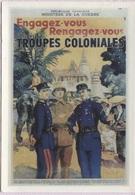 CPM - Affiche Patriotique - ENGAGEZ VOUS ...LES TROUPES COLONIALES - Edit. Art Collections - Patriotiques