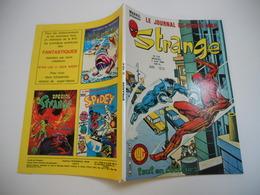 STRANGE EDITION LUG N°124 IRON MAN /// L'ARAIGNEE //// DAREDEVIL ///  TBE ++ - Strange