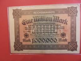 Reichsbanknote 1 MILLION MARK 1923 - [ 3] 1918-1933 : République De Weimar