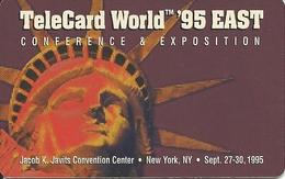 USA: Multimedia Publishing - TeleCard World '95 Exposition New York. - Vereinigte Staaten