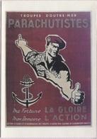 CPM - Affiche Patriotique - TROUPES D'OUTRE-MER PARACHUTISTES ... - Edit. Art Collections - Patriottisch