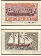 PIA - DANIMARCA -1970 : La Navigazione Danese Nelle Varie Epoche  - (Yv  508-11) - Denmark