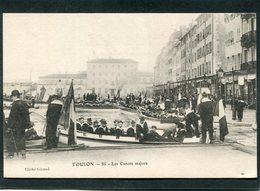 CPA - TOULON - Les Canots Majors, Très Animé  (dos Non Divisé) - Toulon