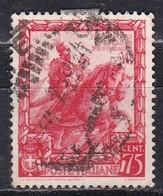 Regno D'Italia, 1938 - 75c Proclamazione Dell'Impero - Nr.444 Usato° - 1900-44 Vittorio Emanuele III
