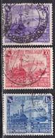 Regno D'Italia, 1939 - Ferrovie Italiane - Nr.449/451 Usato° - 1900-44 Vittorio Emanuele III