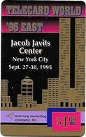 USA: Mercury Marketing - TeleCard World '95 Exposition New York. - Vereinigte Staaten