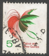 Papua New Guinea. 1969-71 Coil Stamps. 5c Used SG 163 - Papua New Guinea