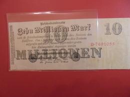 Reichsbanknote 10 MILLIONEN MARK 1923 - 10 Millionen Mark