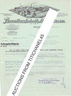 Brief 1934 STEINWIESEN-OBFR. - PORZELLANFABRIK STEINWIESEN - Allemagne