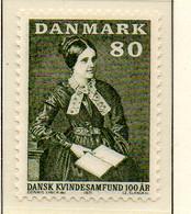 PIA - DANIMARCA -1971 : 100° Dell' Associazione Delle Donne Danesi  - (Yv 514) - Denmark