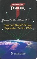 USA: Innovative Telecom - TeleCard World '95 Exposition New York. - Vereinigte Staaten