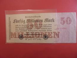 Reichsbanknote 20 MILLIONEN MARK 1923 - [ 3] 1918-1933 : République De Weimar