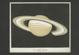 Postcard - The Night Sky - The Planet Saturn - Unused New - Postcards