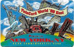 USA: Deltacom - TeleCard World '95 Exposition New York. - Vereinigte Staaten