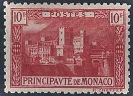 Monaco Variétés  N° 64 A 10f Palais Princier Rose  Qualité: * Cote: 63 € - Monaco