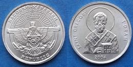 "NAGORNO-KARABAKH - 1 Dram 2004 ""Saint Gregory"" KM# 9 - Edelweiss Coins - Nagorno-Karabakh"