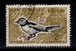 Nouvelles Hebrides - YV 210 Oblitéré Oiseau Cote 8 Euros - Leyenda Inglesa