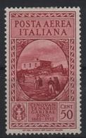 1932 Garibaldi 50 C. MLH - 1900-44 Victor Emmanuel III