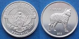 "NAGORNO-KARABAKH - 1 Dram 2013 ""wolf"" KM# 28 Republic (1992) - Edelweiss Coins - Nagorno-Karabakh"