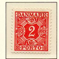 PIA - DANIMARCA -1934-53 :  Segnatasse  - (Yv 28) - Postage Due