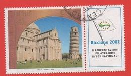 2002 (2645)  Patrimonio Mondiale Dell'Unesco Con Appendice - Leggi Il Messaggio Del Venditore - 6. 1946-.. Repubblica