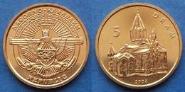 """NAGORNO-KARABAKH - 5 Drams 2004 """"Gagzasar Monastery"""" KM# 11 - Edelweiss Coins - Nagorno-Karabakh"""