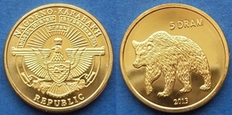 "NAGORNO-KARABAKH - 5 Drams 2013 ""bear"" KM# 32 Republic (1992) - Edelweiss Coins - Nagorno-Karabakh"