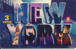 USA: Brilliant Color Cards - TeleCard World '95 Exposition New York. - Vereinigte Staaten