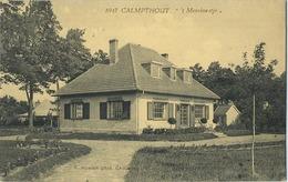 Kalmthout - Calmpthout :  't  Merelnestje   ( Geschreven Met Zegel )    (  HOELEN 8947 ) - Kalmthout