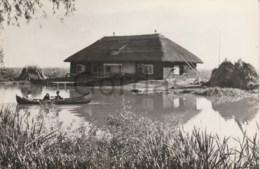 Romania - RPR - Delta Dunarii - Cabana Pescareasca - Fisherman Boat - Romania