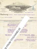 Rechnung 1933 WIPPERFÜRTH - KORDT & ROSCH - Press, Stanz-u. Hammerwerk - Non Classés