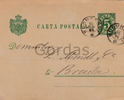 Romania - Bucuresti - 1894 - Judaica - Mendl & Co. - Romania