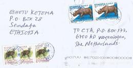 Ethiopia 2017 Sendafa Rhino Bushbuck Cover - Ethiopië