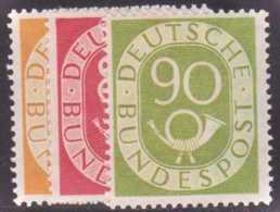 Allemagne Fédérale Postes  N° 9 à 24 Cor Postal 16 Valeurs Qualité: ** Cote: 2750 € - Deutschland