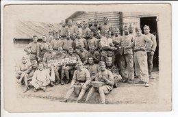Cpa Photo Militaire Souvenir Du Camp De Mailly 1922 - Photographs