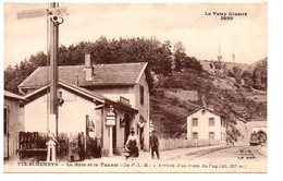 Fix Saint Geneys : La Gare Et Le Tunnel - Arrivée D'un Train Du Puy - Otros Municipios